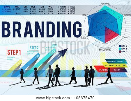 Branding Advertising Commercial Copyright Marketing Concept