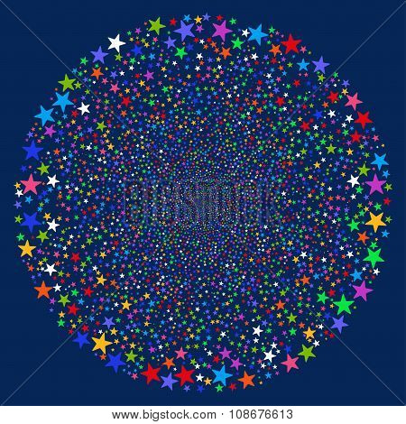 Fireworks Star Sphere