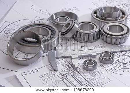 Bearings And Many Drawings