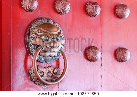 Close Up Traditional Door Knob