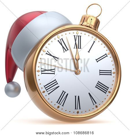 New Year's Eve Time Alarm Clock Midnight Hour Countdown