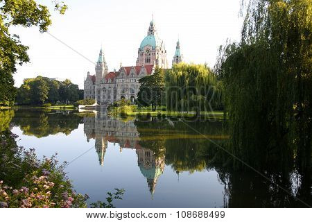 Rathaus In Hannover, Germany