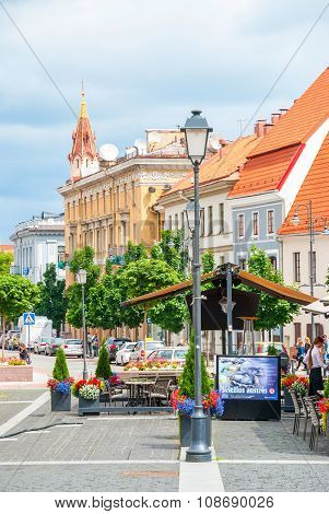 Downtown Of Vilnius, Lithuania