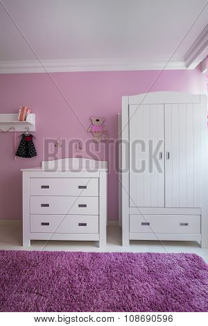 Beautiful And White Furnitures