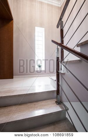 Modern And Light Staircase