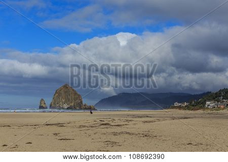 Haystack in the Cannon Beach