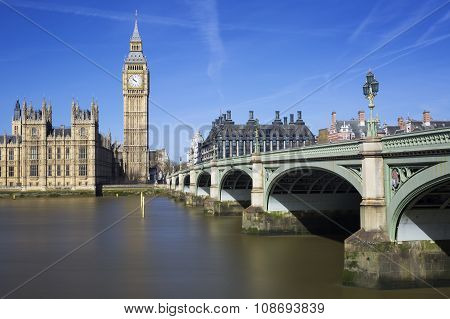 Famous View Of Big Ben