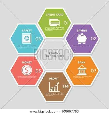 Finance Infographic Icons