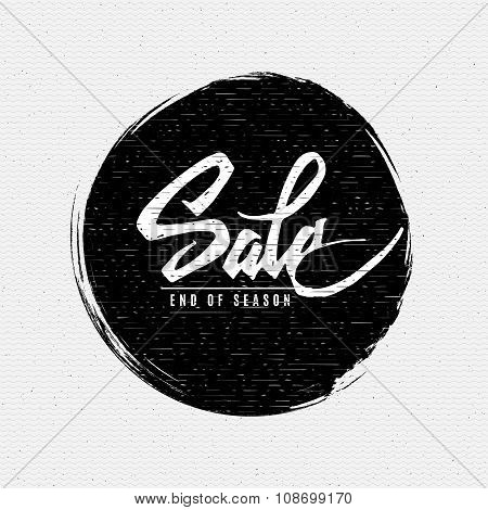 End of season Sale insignia  and labels for any use