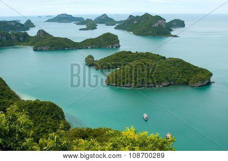 Wild Islands In The Sea