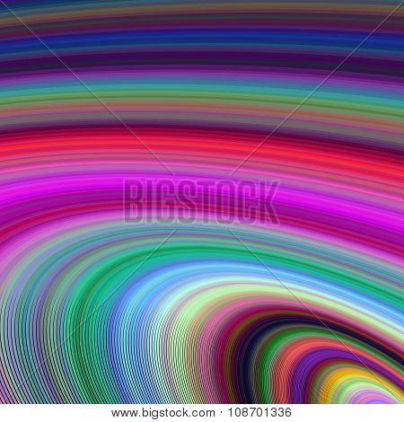 Multicolored ellipse fractal background