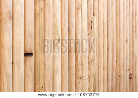 Wooden fence can be used as background