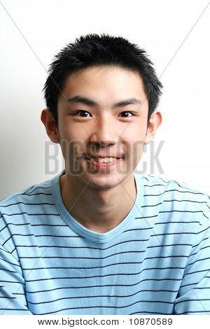 Portrait of asian teen.