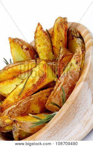 Roasted Potato Wedges
