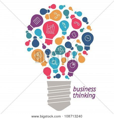 Illustration Ideas In The Field Of Business