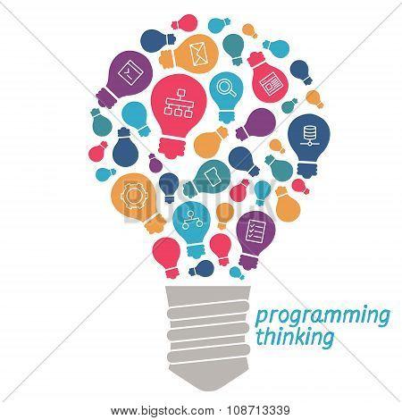 Illustration  Ideas In The Field Of Programming