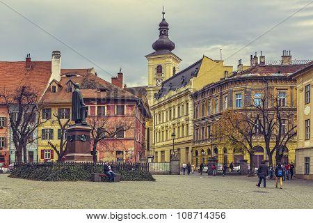 Huet Square, Sibiu, Romania