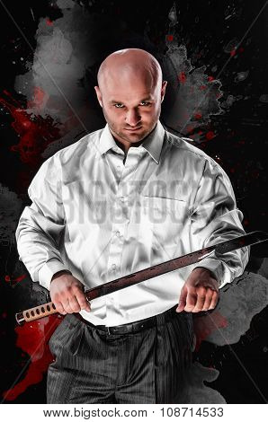 Man With A Japanese Sword