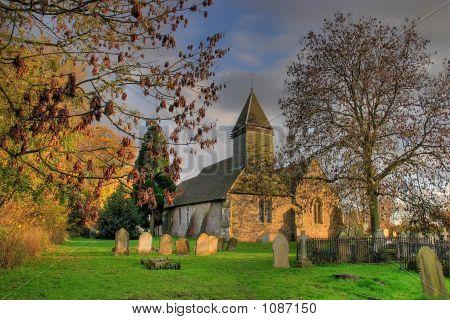 Bergholt iglesia
