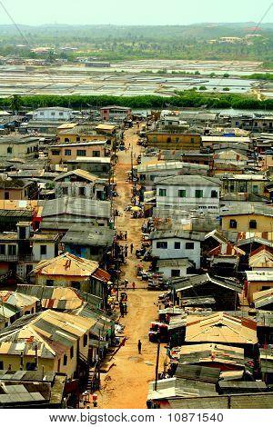 Market street in Africa