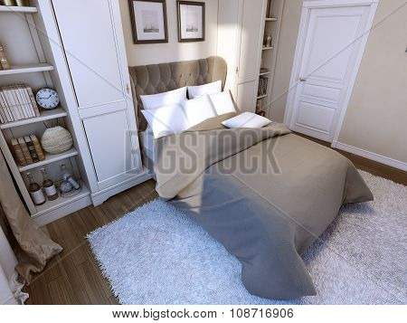 Bedroom In Gothic Style