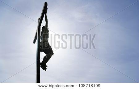 The Crucifixion Of Jesus Panoramic View