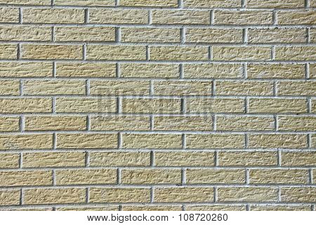 Wall Of Structured Decorative Light Bricks