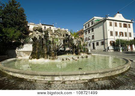 Lanuvio Albani Hill, Italy