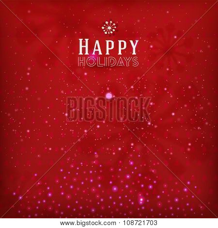 Red holidays background