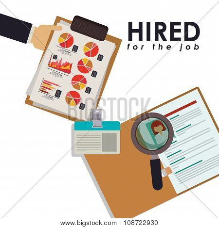hired for the job design