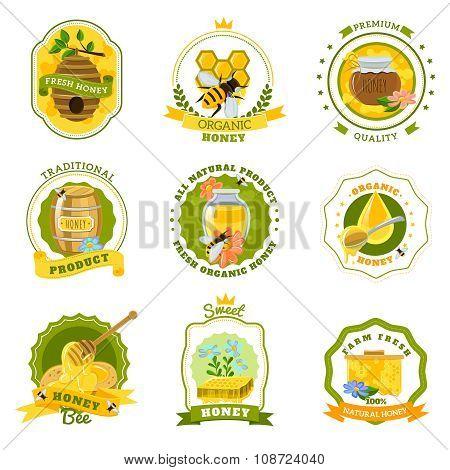 Honey Emblems Set