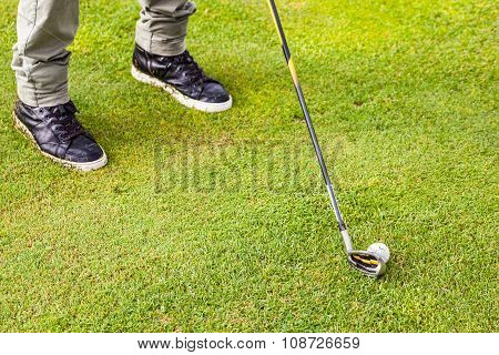 Golf Iron Club
