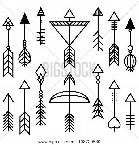 Arrows And Bow Set