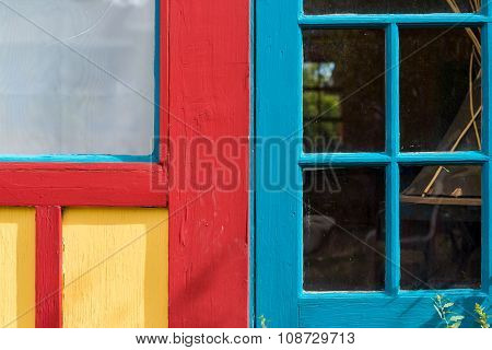Colorful Door And Window Combination