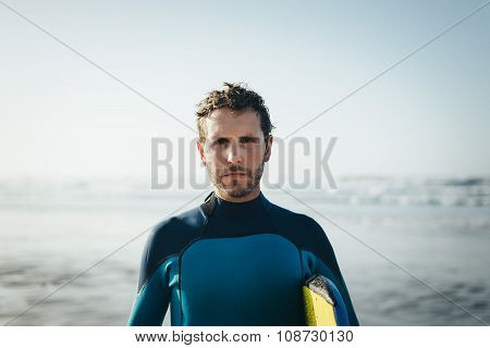 Bodyboard Man Portrait