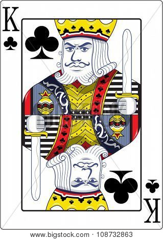 King of clubs original design