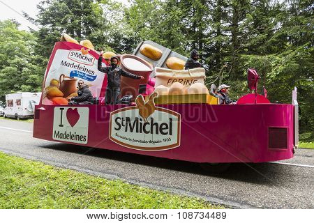 The Car Of St. Michel Madeleines - Tour De France 2014