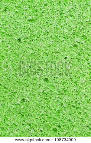 Green cellulose sponge
