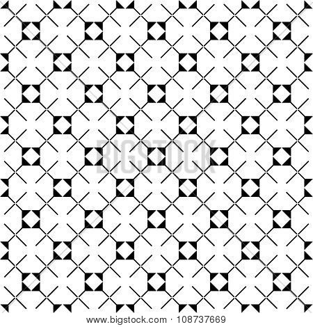 Tile vector pattern with black and white background wallpaper