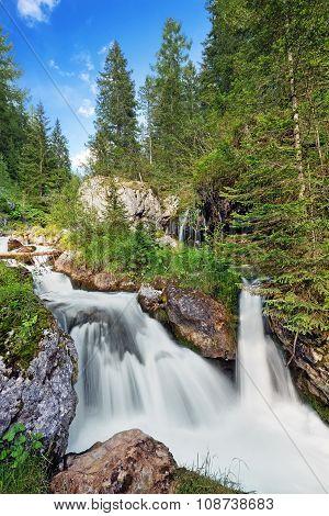 creek waterfall