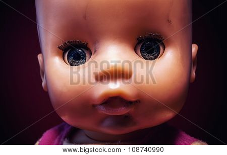 Portrait Of A Baby Toy