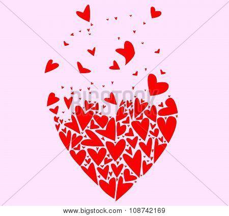 Flyaway Love Hearts