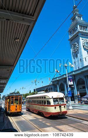 Streetcars in San Francisco
