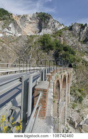 Old Bridge Of Quarry Marble