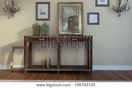 Console Art Deco Style