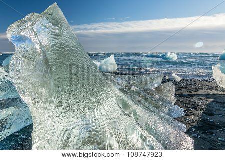 Jokulsarlon Glacial Beach, Iceland