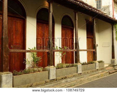 Old House In Fort Galle, Sri Lanka