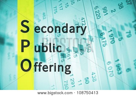 Secondary public offering