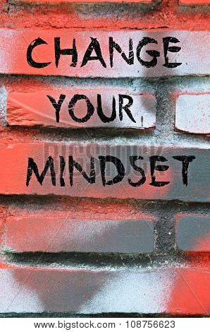 Change your mindset message