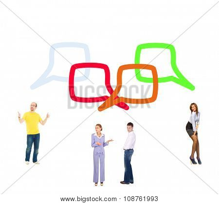 Situations Compilation Conversations in a Company